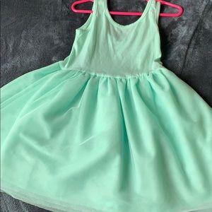 Toddler light mint green dress🛍